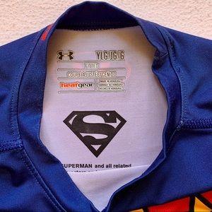 Under Armour Shirts & Tops - Under Armour Boys Superman Tee